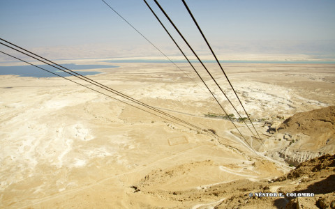 Tram up to the top of Masada