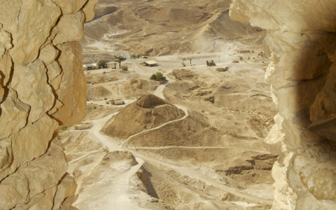 Views from Masada