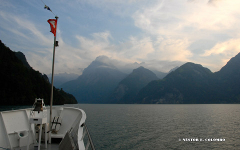 On the Water - Lake Lucerne