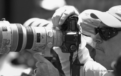 Photographer at the Sony Ericsson Open