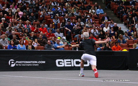 Acura Champions Cup - John McEnroe
