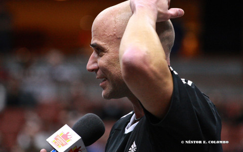 Acura Champions Cup - Andre Agassi