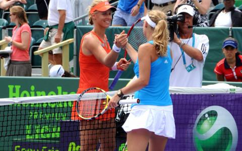 Dementieva and Wozniacki